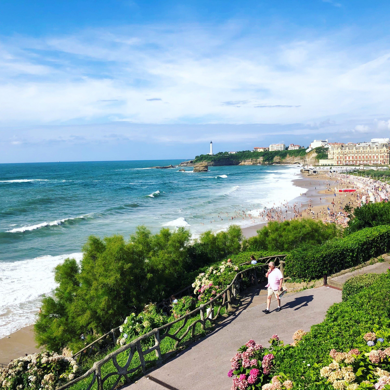 Amoureuse du pays basque, Biarritz est mon coup de coeur, une ville pleine de richesse et d'histoire