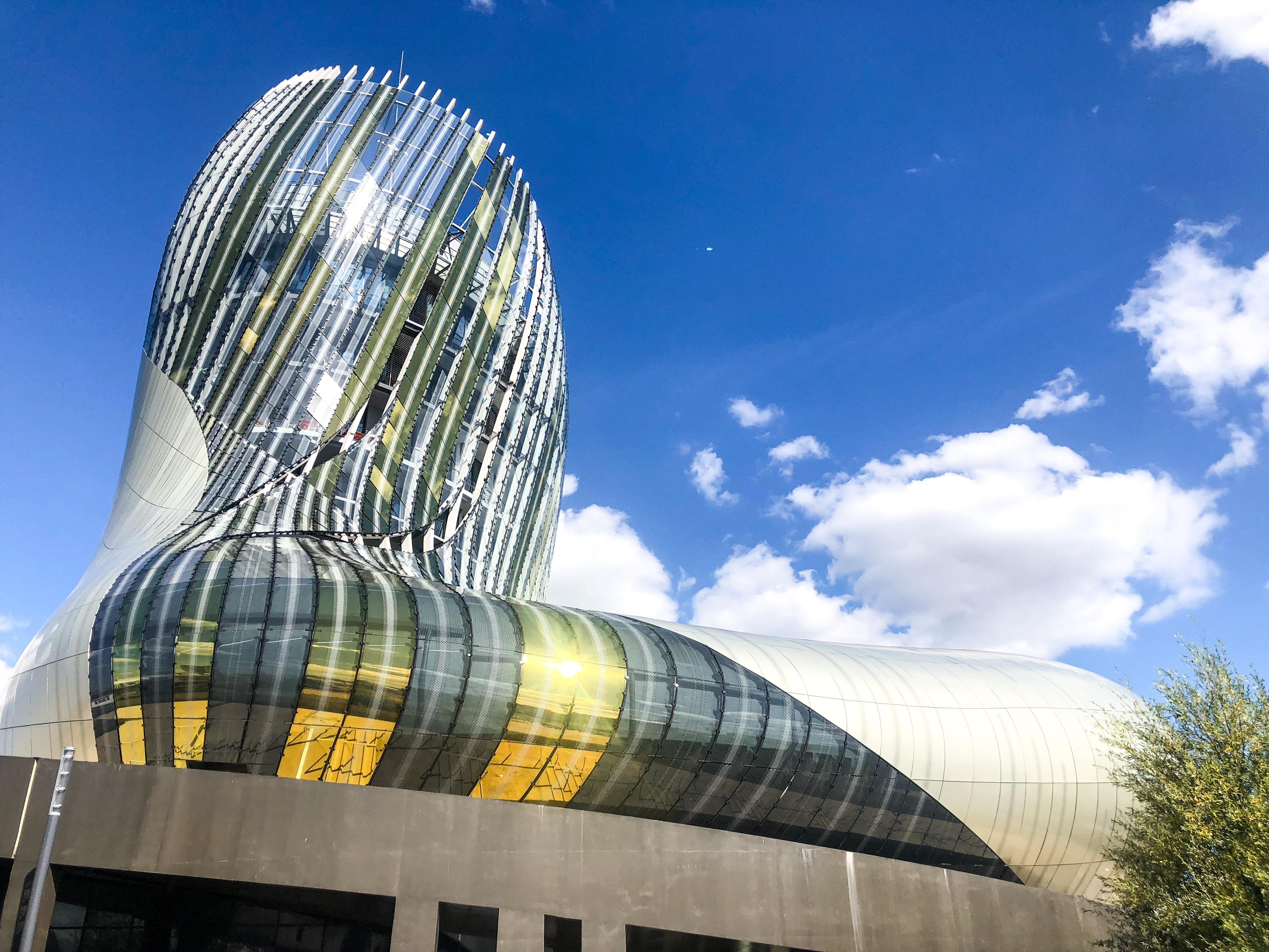 Je vous emmène avec moi à la Cité du Vin de Bordeaux
